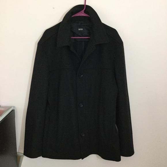 hugo boss cashmere jacket